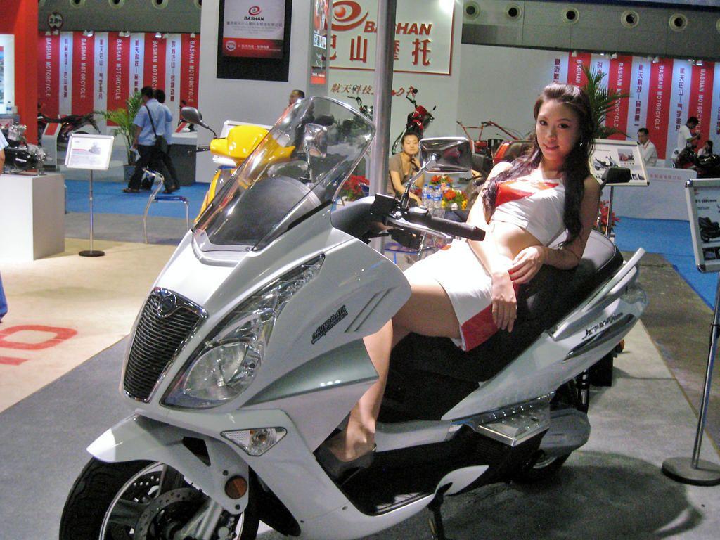 Готов проект самого большого в мире завода по производству скутеров