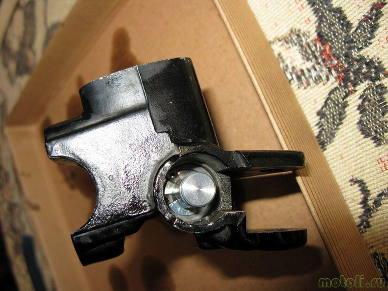Как перебрать главный тормозной цилиндр и передние суппорты на Honda CBR 600 F4i