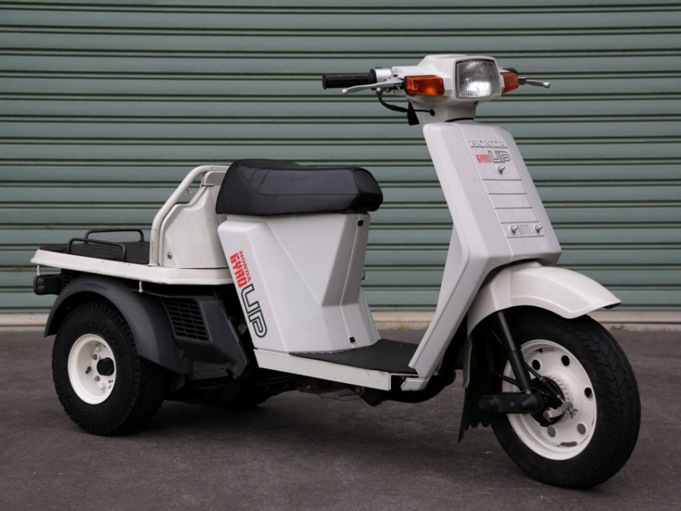 Грузовой скутер Kaito – компактный гибрид из Японии
