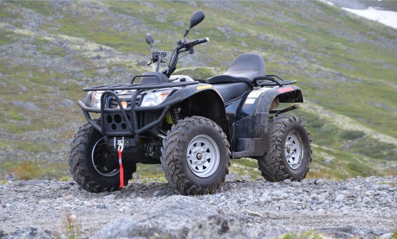 Модельный ряд квадроциклов Polar Fox