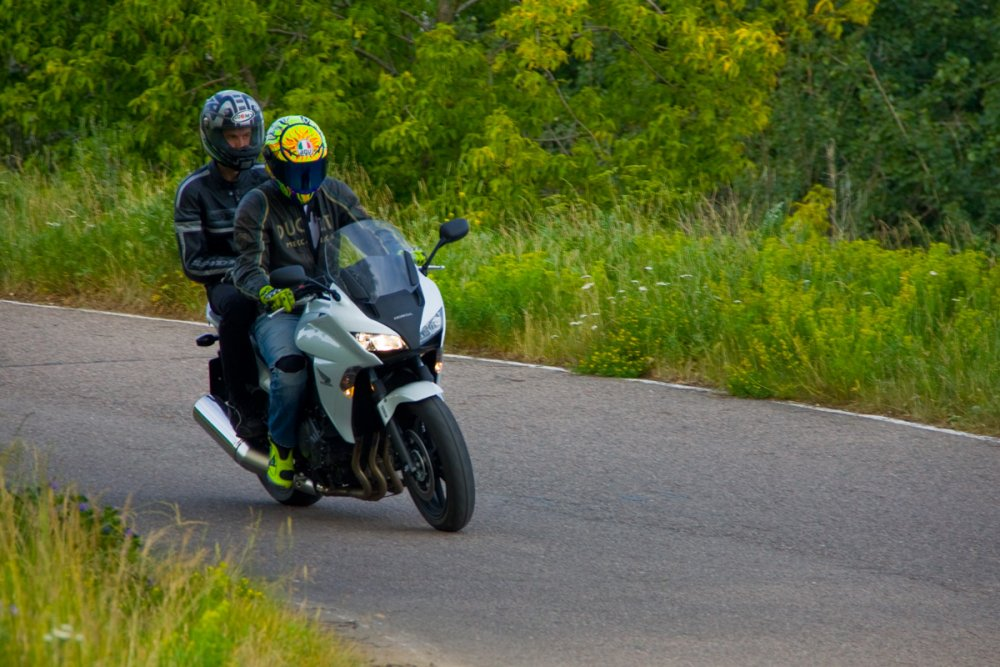 Тест-драйв мотоцикла Honda CBF 1000