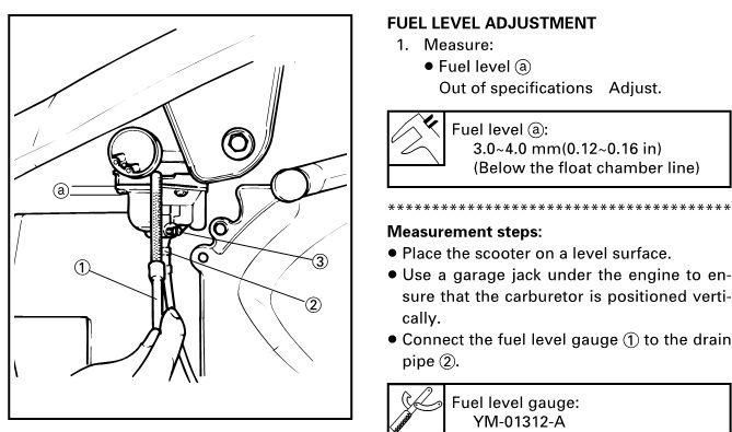 Регулировка карбюратора 2т скутера: настроить винт качества 50 сс