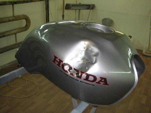 Изготовление бензобака мотоцикла с нуля с вогнутым дном