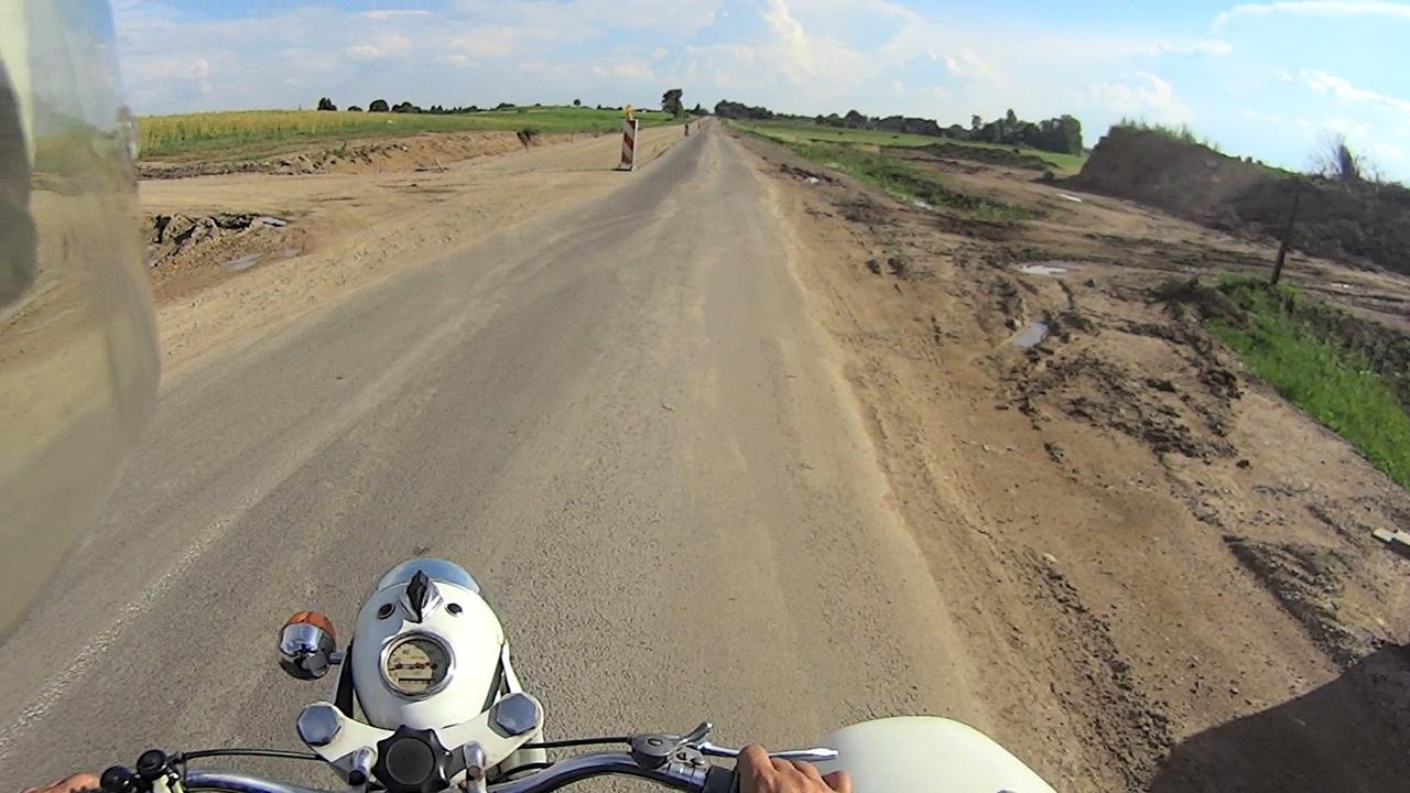 На мотоцикле в Прибалтику