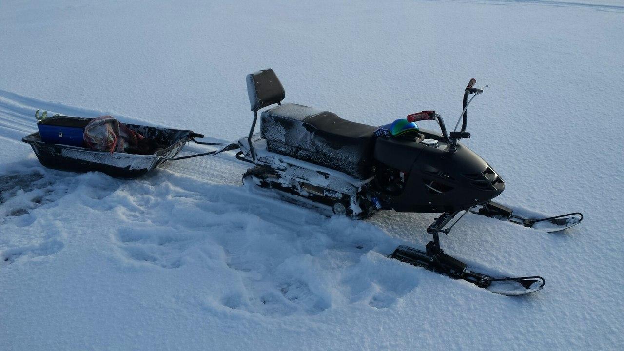 Обзор мини снегохода Бурлак