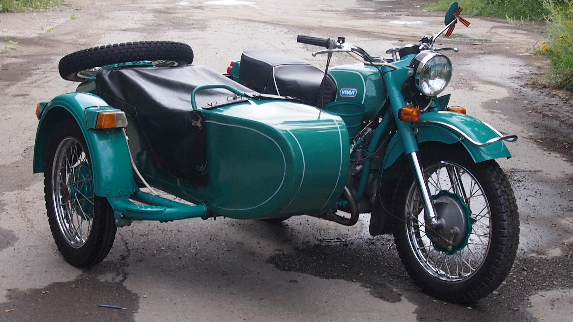 Урал М 67 36 — самый популярный мотоцикл СССР
