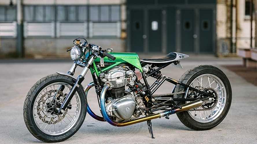 15 Kawasaki W800 SE от мастерской Schlachtwerk