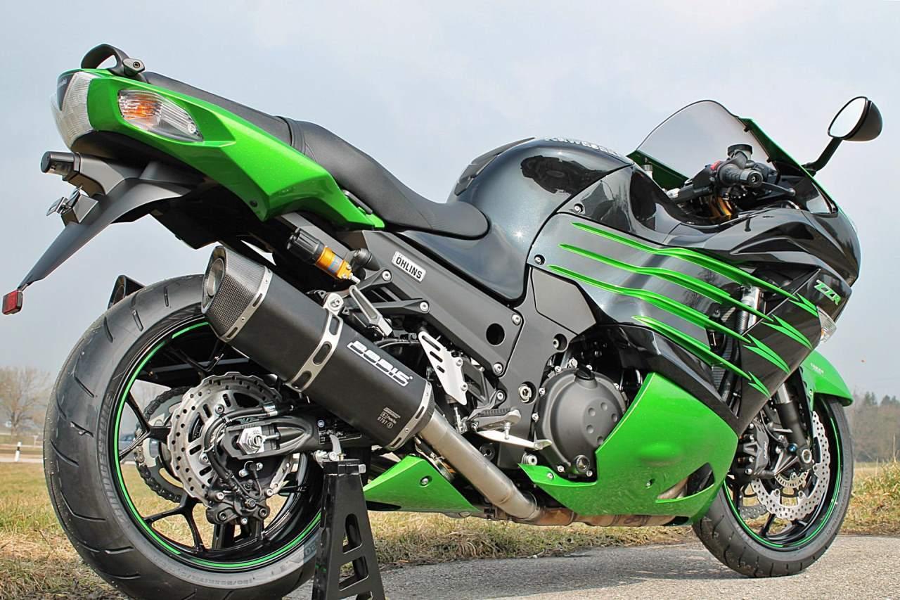 Тест-драйв мотоцикла Kawasaki ZZR1200