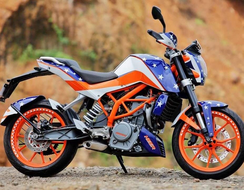 Мотоциклы KTM