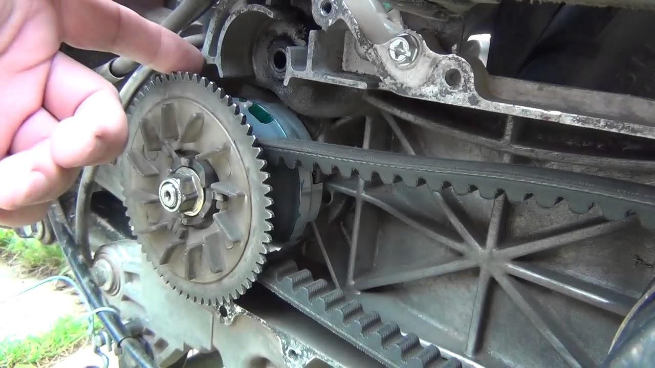 Можно ли в вариатор скутера устанавливать разные ролики