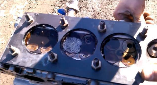 Ремонт перегретой (треснувшей) головки двигателя