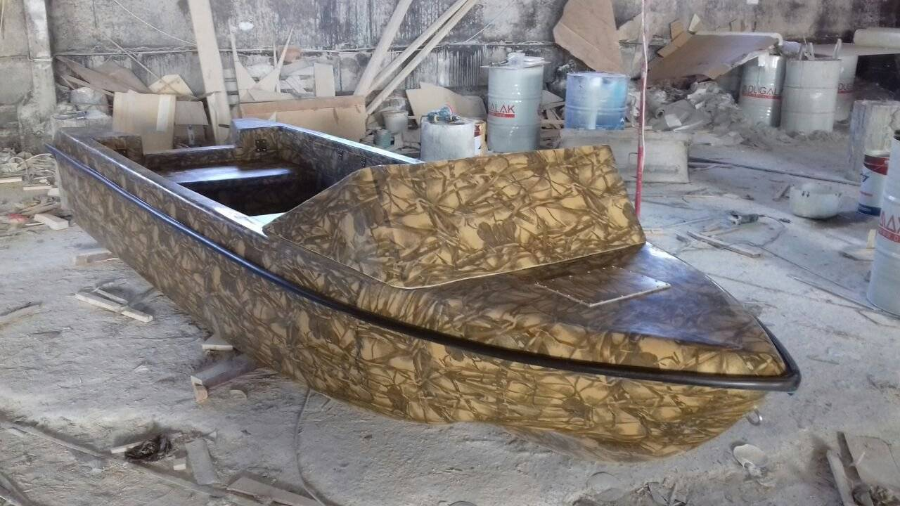 Стеклопластик для самодельных лодок