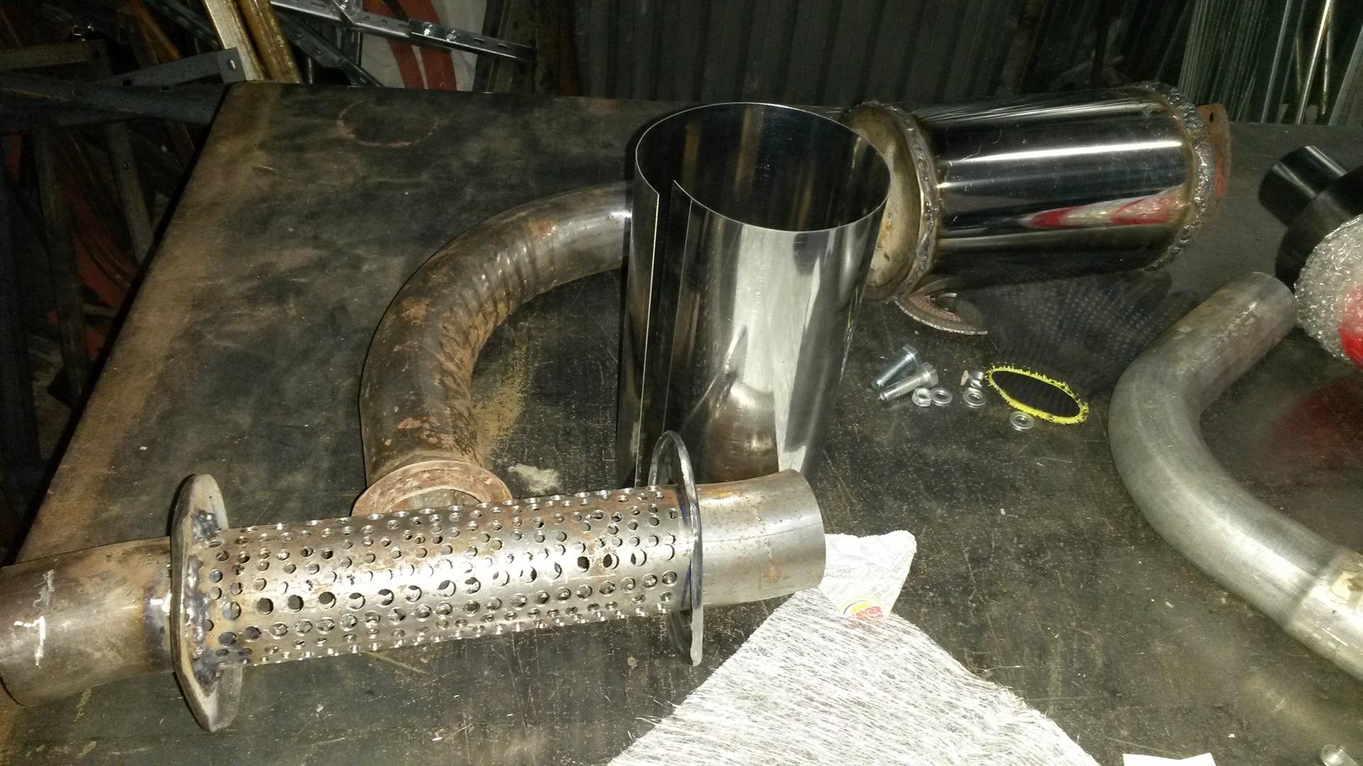 Тюнинг глушителя на квадроцикл - прямоточные, тихие и шноркель выхлопной трубы