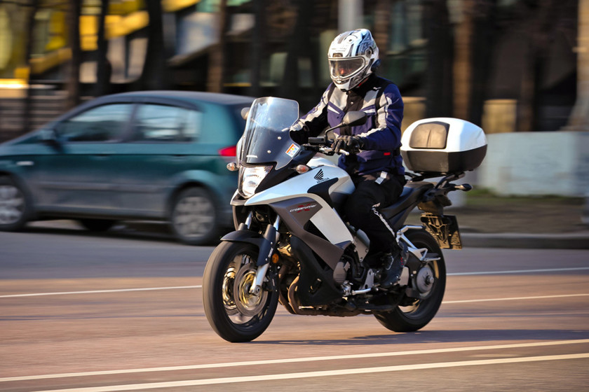 Тест-драйв мотоцикла Honda VFR800X