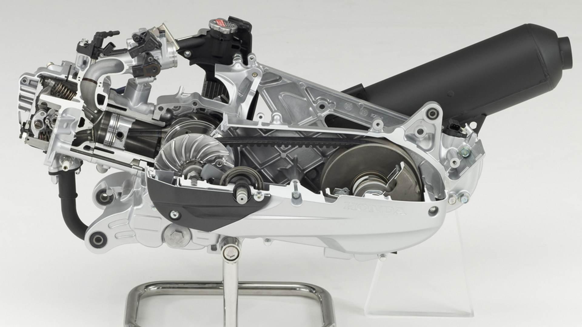 Четырехтактный двигатель скутера и мопеда — устройство и принцип работы