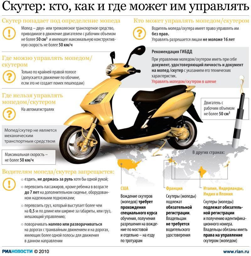Бензин для скутера – советы и рекомендации