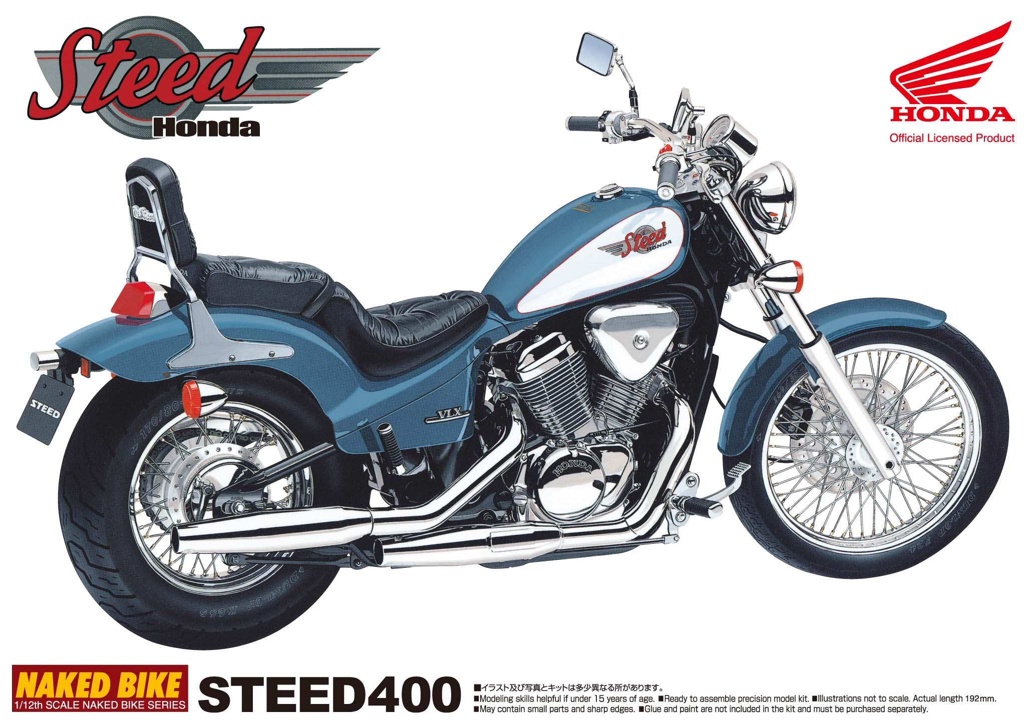 Тест-драйв мотоцикла Honda Steed 400