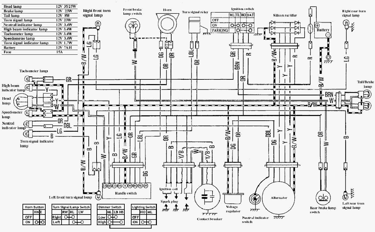 Руководство по ремонту и обслуживанию электрооборудования скутера Suzuki Let's 2