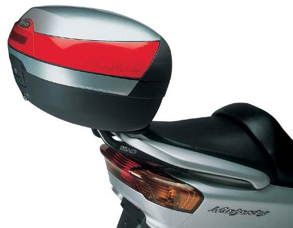 Кофры для мотоцикла и скутера — обзор