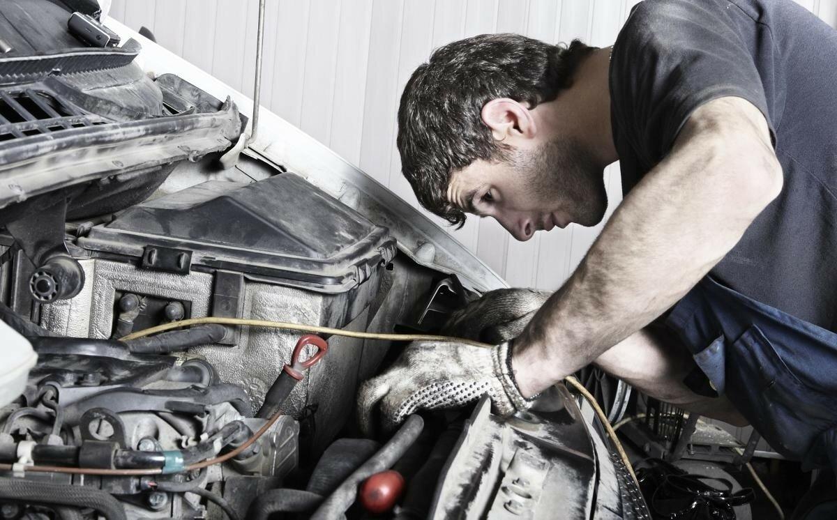 Ремонт машины следует доверить только профессионалам