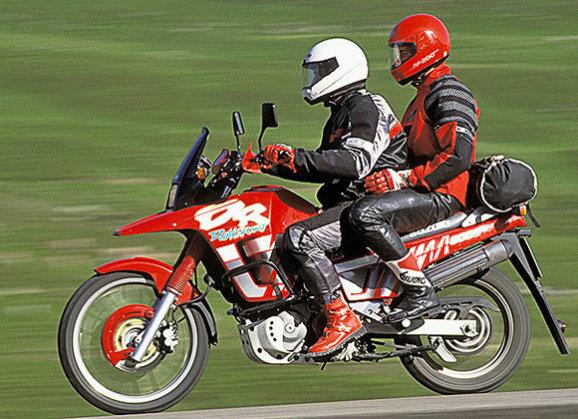 Тест-драйв мотоцикла Yamaha TRX 850