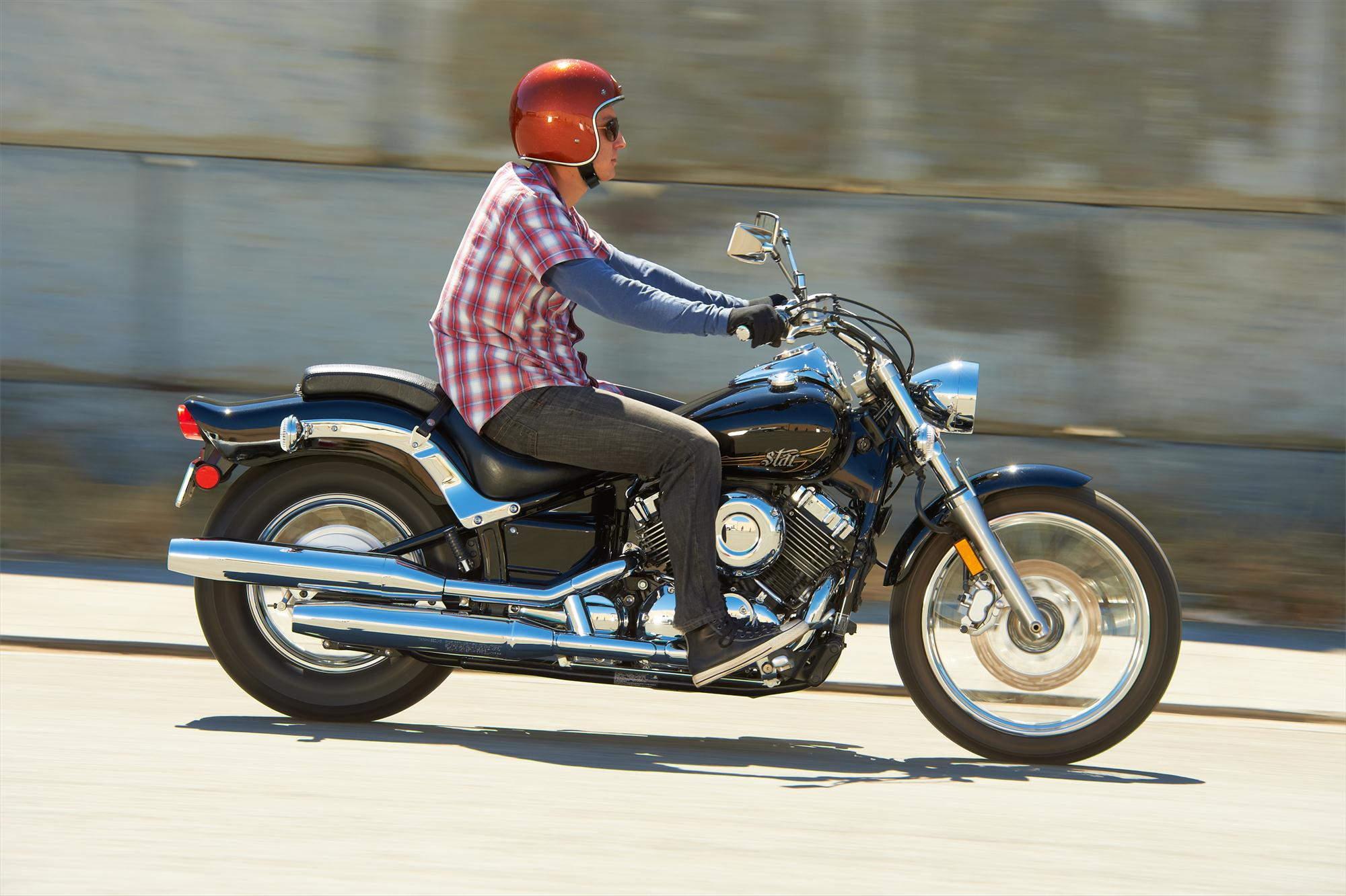 Тест-драйв мотоцикла Yamaha XVS650 Drag Star