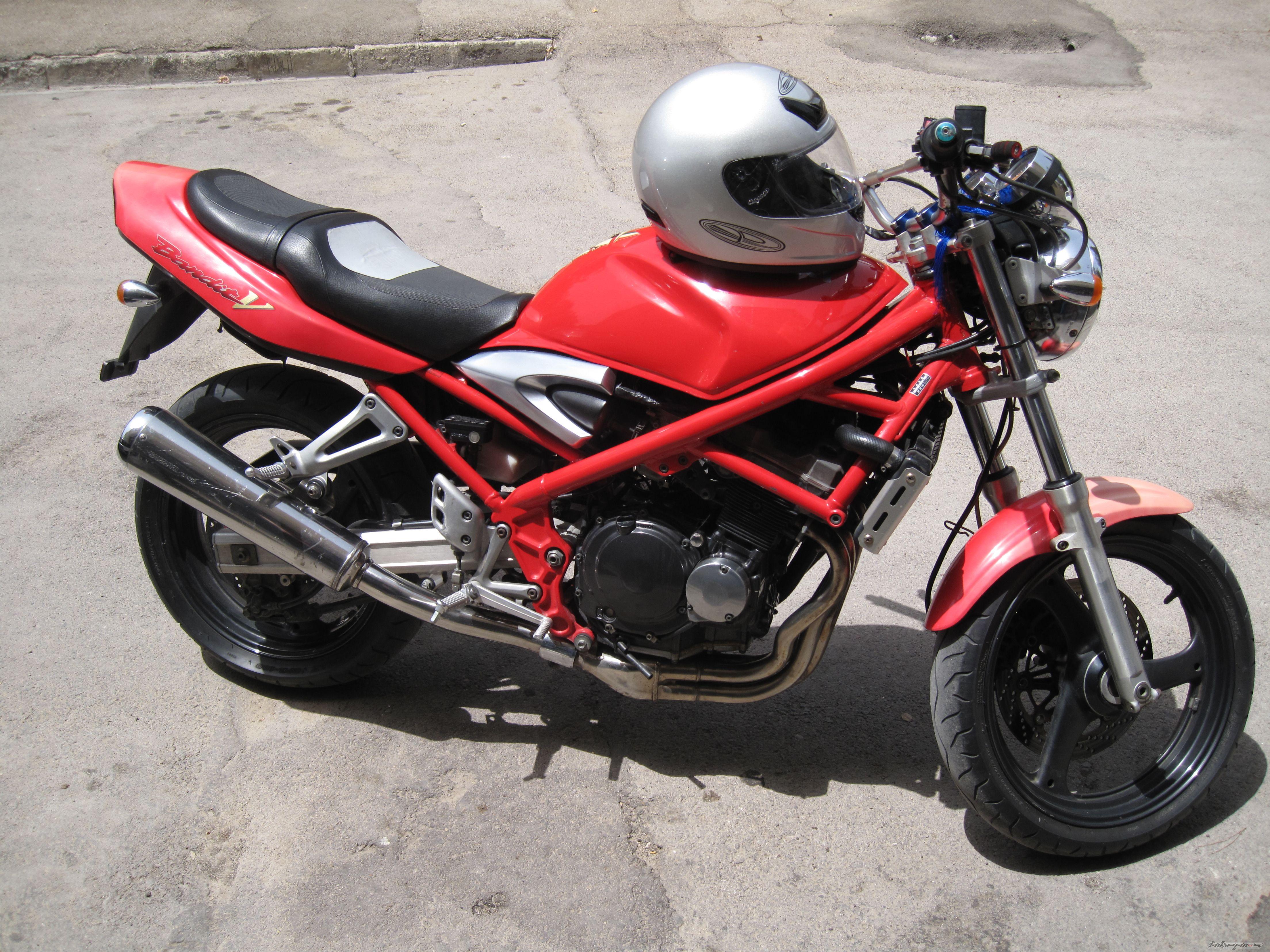 Мотоцикл Suzuki Bandit (Сузуки Бандит) GSF 250 краткий обзор