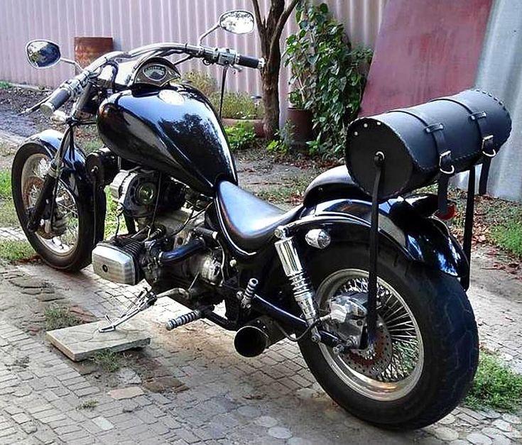 Как сделать тюнинг мотоцикла Днепр своими руками