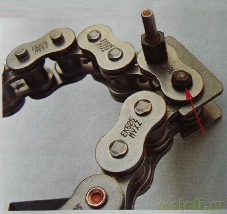 Как правильно заменить цепь на импортном мотоцикле