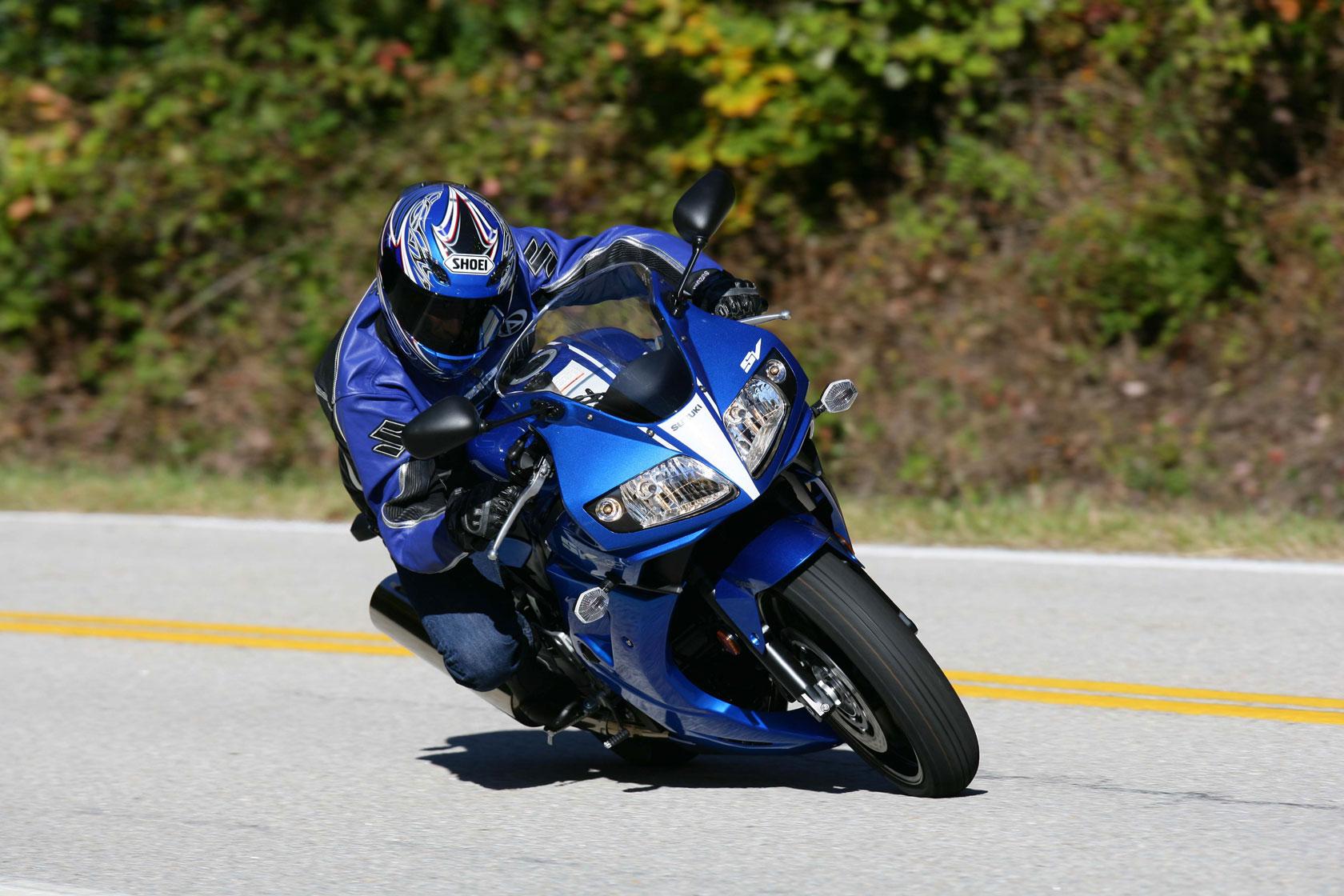 Тест-драйв мотоцикла Suzuki SV650