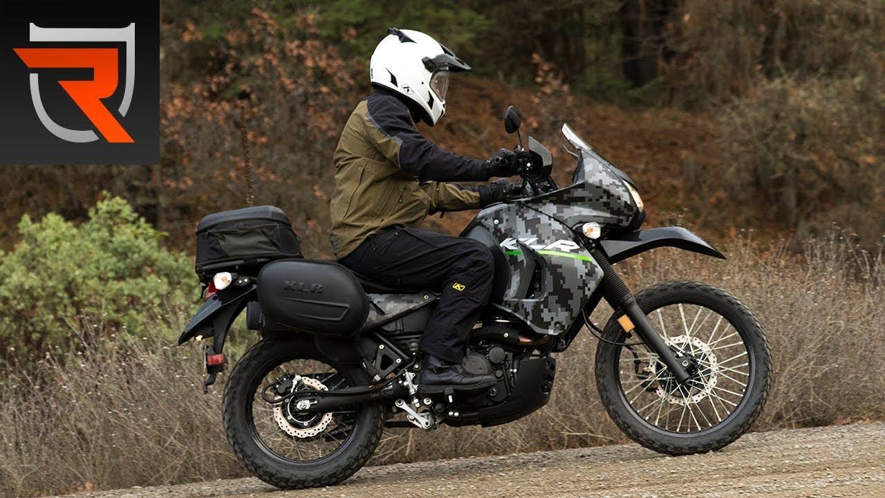 Тест-драйв мотоцикла Kawasaki KLR650