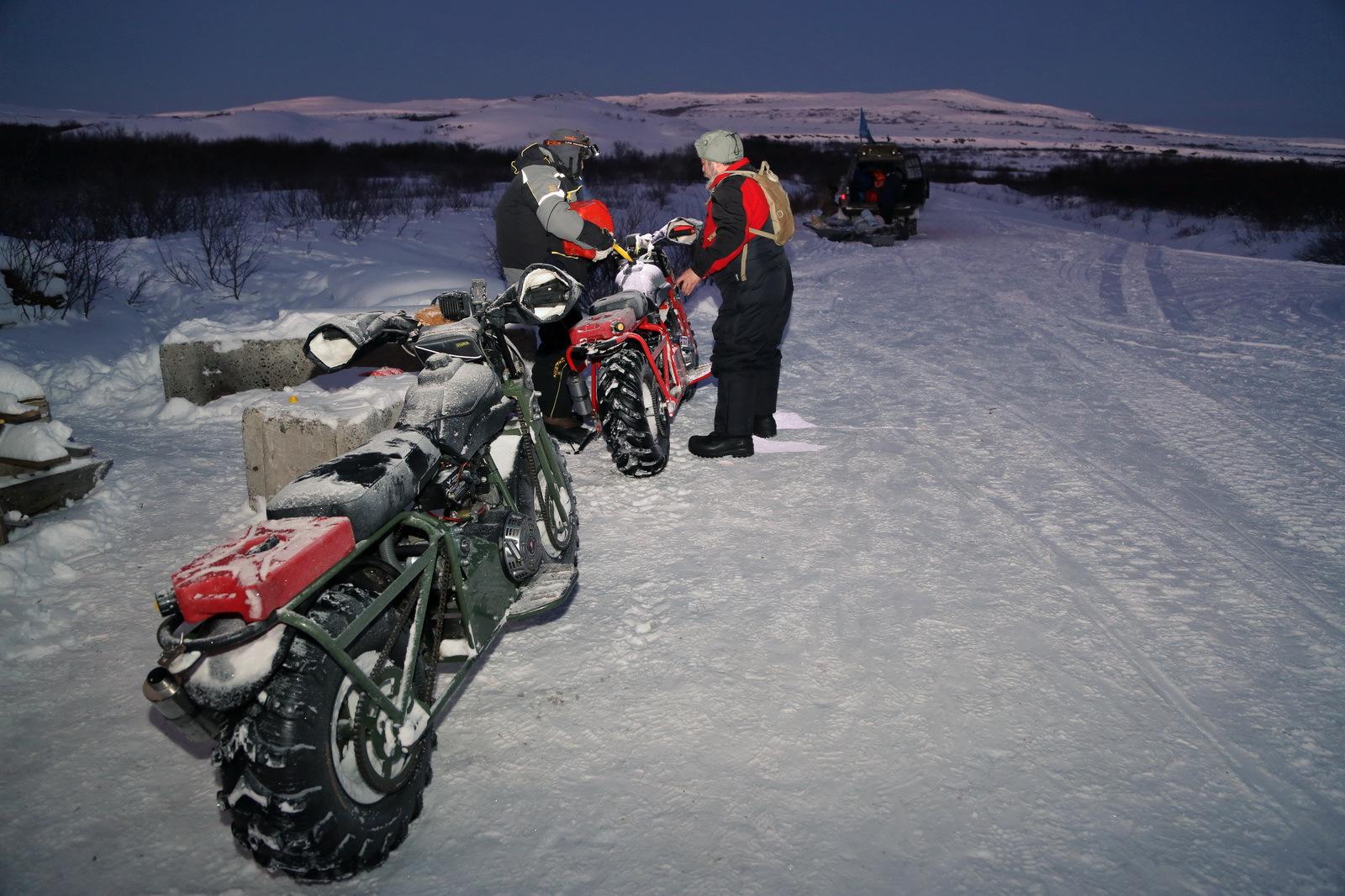 Мотоцикл с полным приводом: настоящие внедорожники