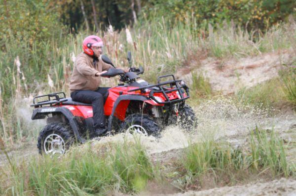 Stels ATV 300 B — полноприводный квадроцикл, утилитарного назначения