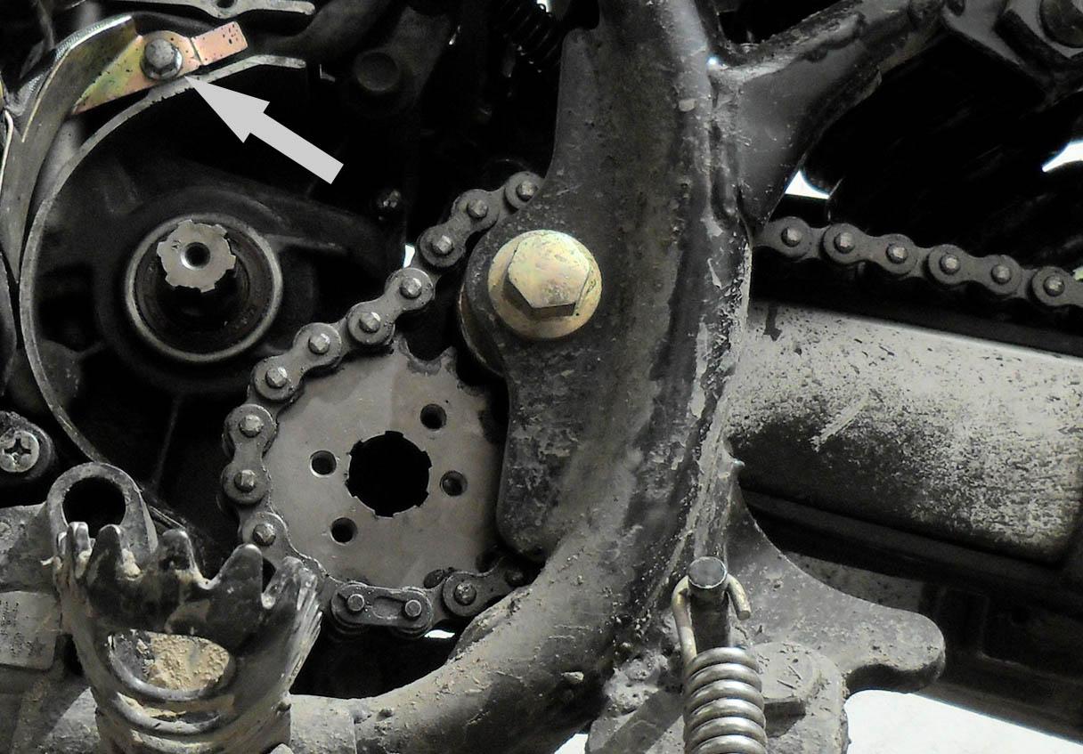 Натяжитель цепи квадроцикла: апгрейд ролика натяжителя