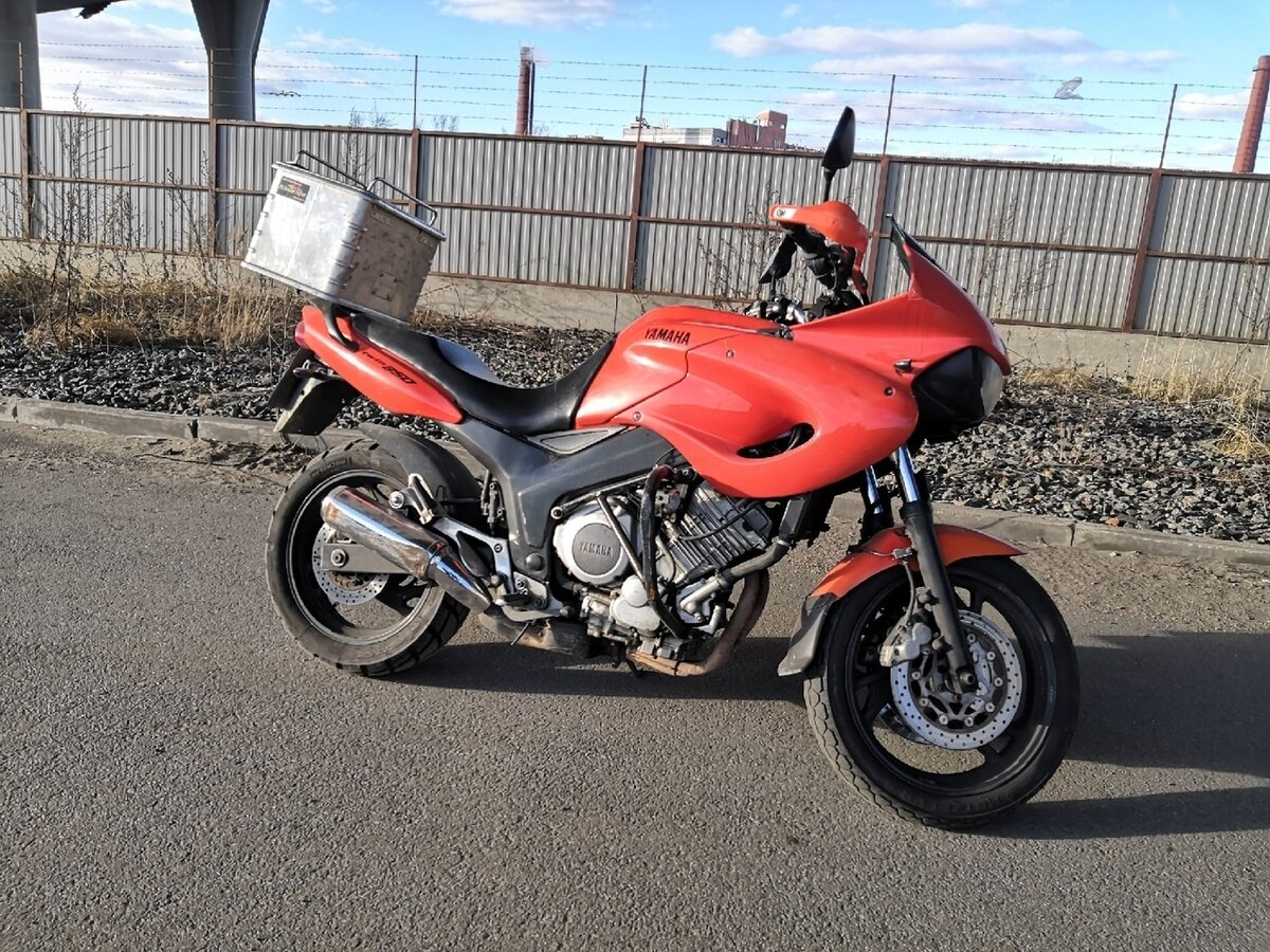 Yamaha TDM 850: выносливость и адреналин.