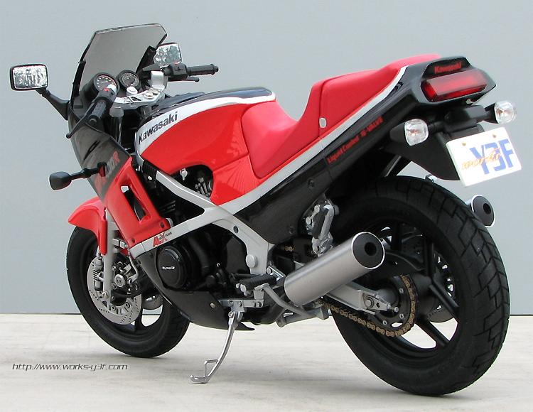 Kawasaki GPZ 400 (GPZ400R)