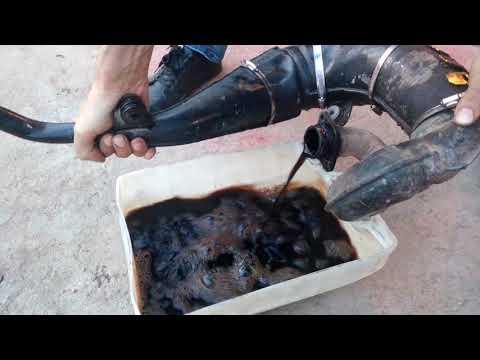 Методы очистки глушителя скутера от нагара