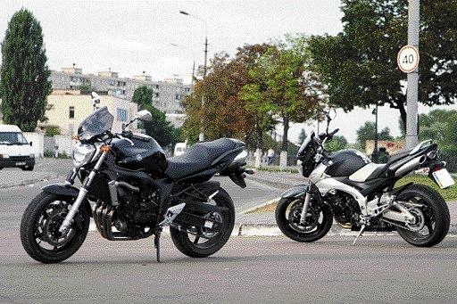Тест-драйв мотоцикла Suzuki GSR 600