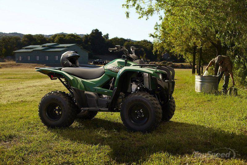 Yamaha Grizzly (Ямаха Гризли) 300 — лёгкий утилитарный квадроцикл с мощным двигателем