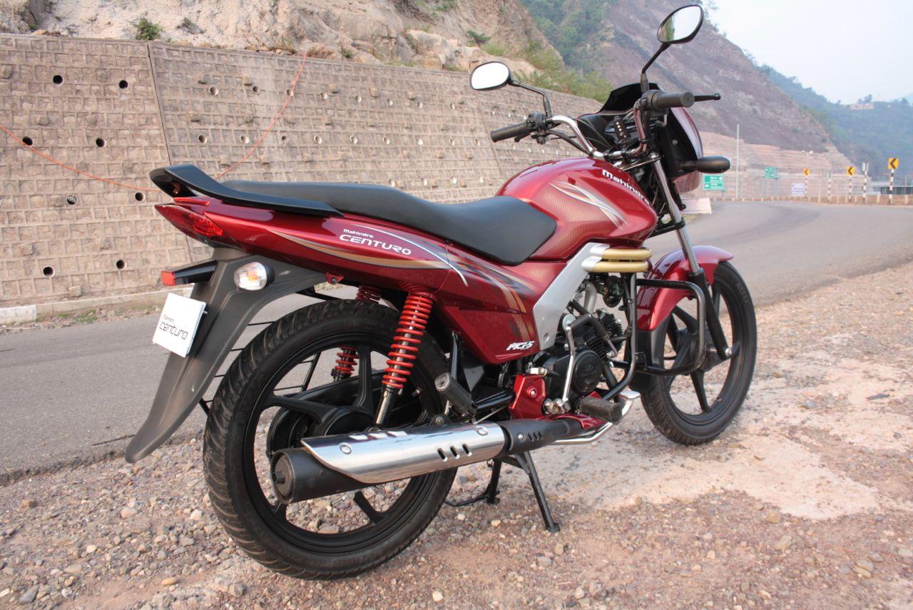 Mahindra Centuro – легкий, недорогой и экономичный мотоцикл из Индии