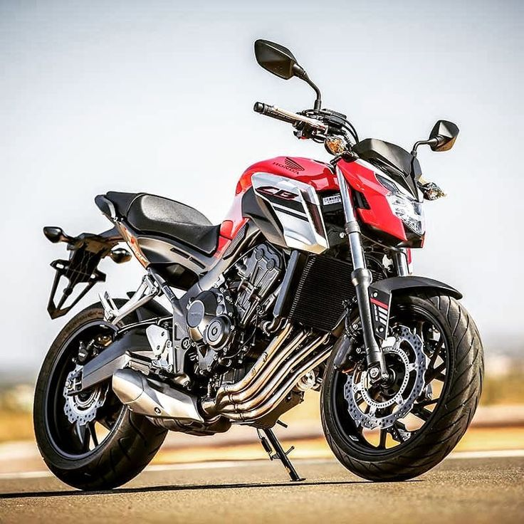 Тест-драйв мотоцикла Honda CB650F