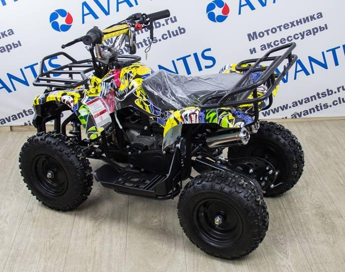 Обзор популярных моделей детских квадроциклов на бензине