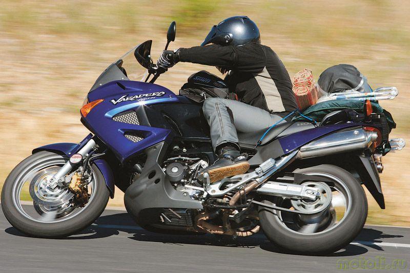 Тест-драйв мотоцикла Honda XL1000V Varadero
