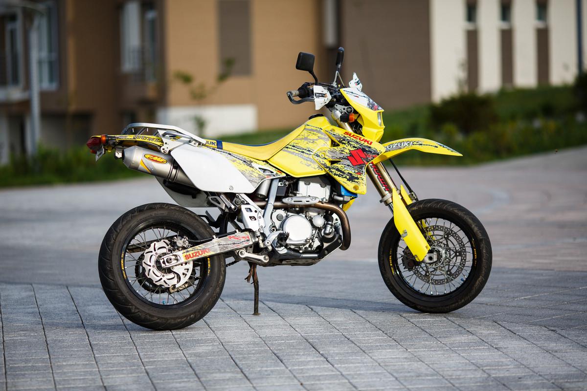 Тест-драйв мотоцикла Honda XR400 Motard