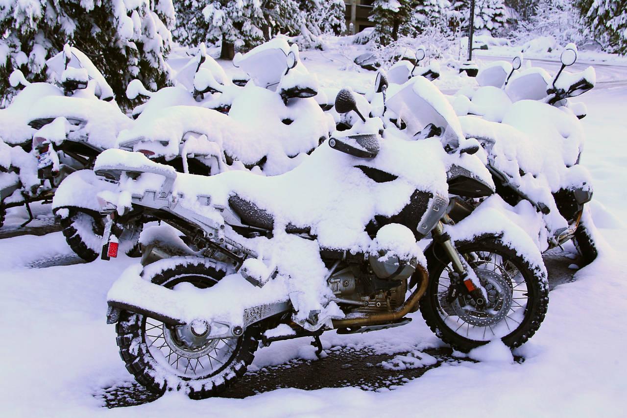 Как правильно хранить скутер зимой