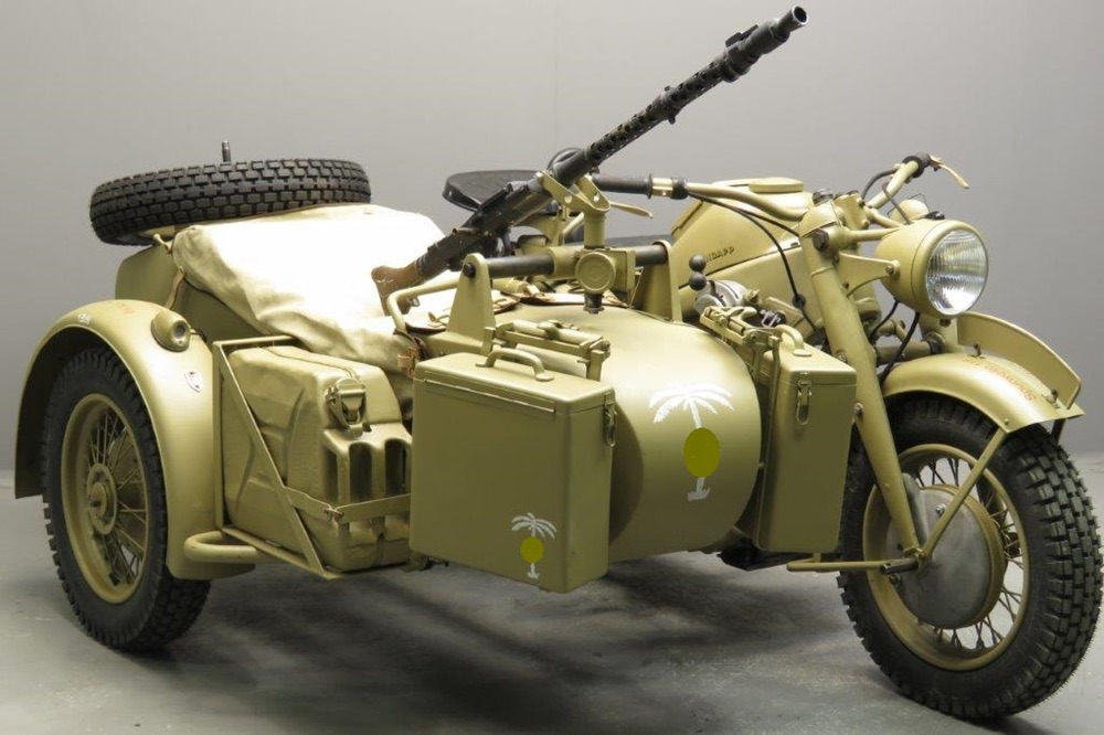 Военные мотоциклы на вооружении в разных странах