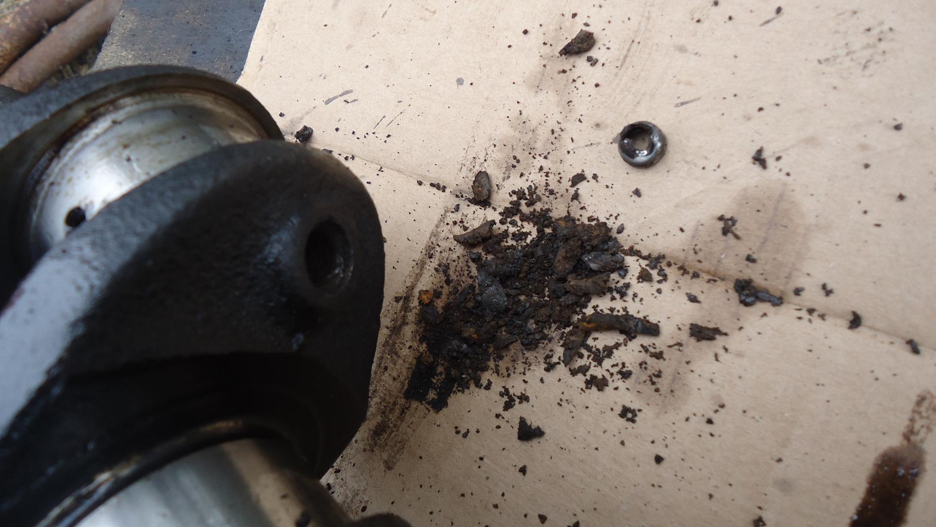 Очистка масляных каналов коленвала