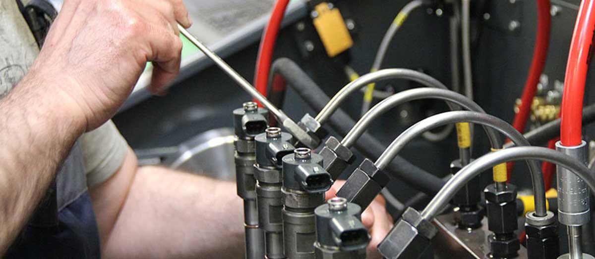 Диагностика и ремонт форсунок дизельных двигателей