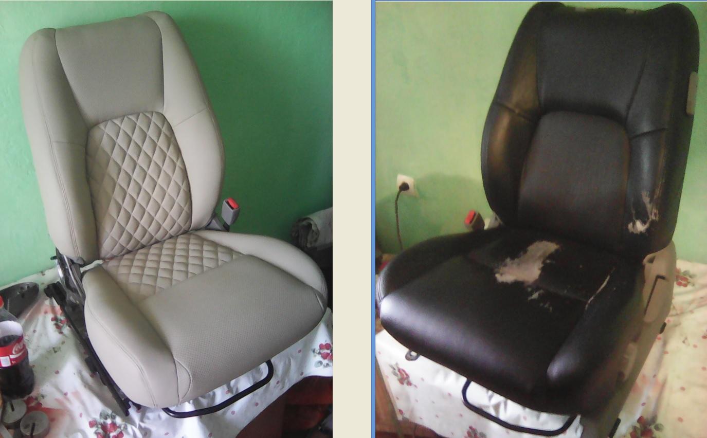 Автомобильные чехлы и реставрация сидений