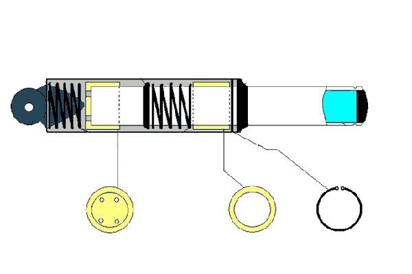 Передние амортизаторы скутера – устройство, разборка и ремонт